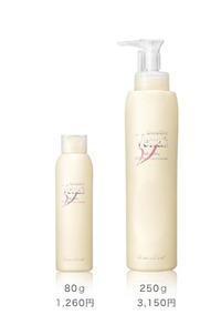頭皮を美容液で洗う