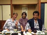 松之山温泉、テレビに2日連続でます