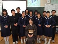 中学校訪問