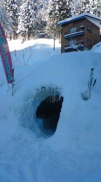 松之山温泉の小正月・地炉ナイト