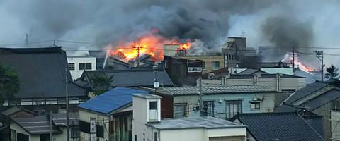 糸魚川市の大火災