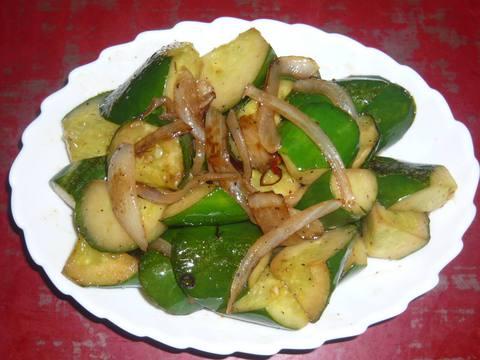 胡瓜の炒め物