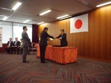 観光庁長官表彰を受賞しました。