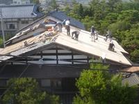 屋根瓦の葺き替え②