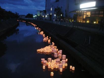 矢川灯籠流し 2017
