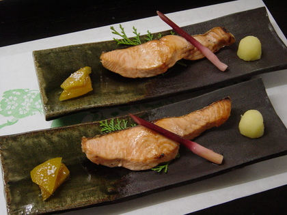 桜鱒の白焼