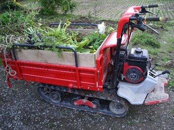 農業用運搬車