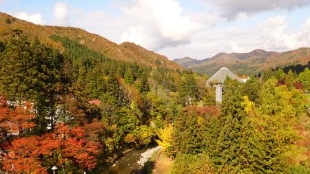 紅葉と駒ケ岳