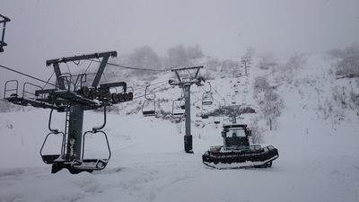 12月21日 大湯温泉スキー場オープン!