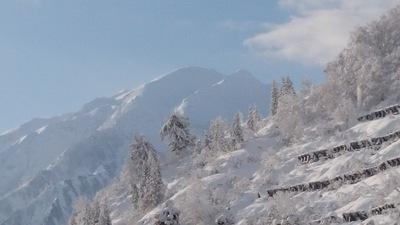 朝焼けの駒ヶ岳