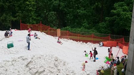本日、うおぬま夏の雪まつり1日目でした