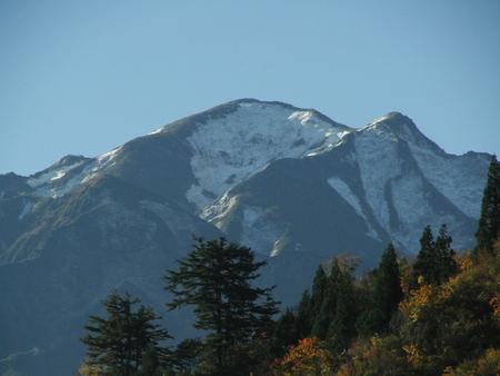 越後駒ケ岳 三変化
