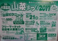 5月28日(日)大湯温泉 山菜まつり!