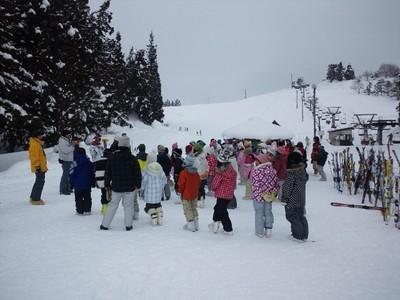 スキー授業