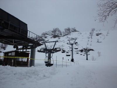 昨日、大湯温泉スキー場オープン!