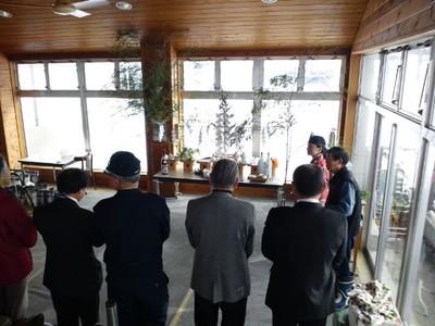 大湯温泉スキー場 安全祈願祭