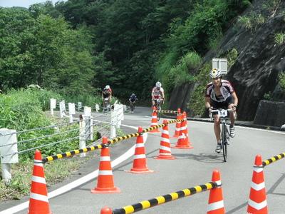 自転車レース ヒルクライム