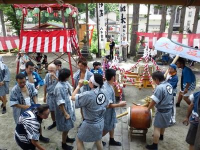 大湯祭り1日目