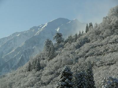 素晴らしい雪景色