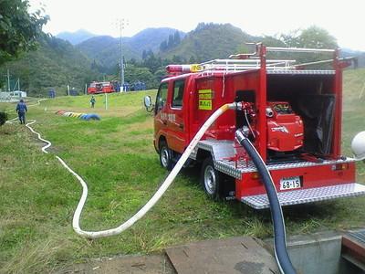 消防団演習