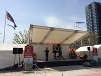 【鼓童出演】5/4  新潟駅駅南口準備完了!