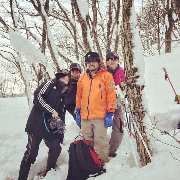 『スノーシューツアー』 ~君は〝雪なし〟をみたか?~