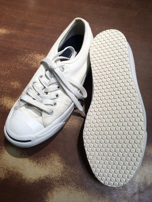 CONVERSE JACK PURCELL×vibram#7120 safewalk ホワイト