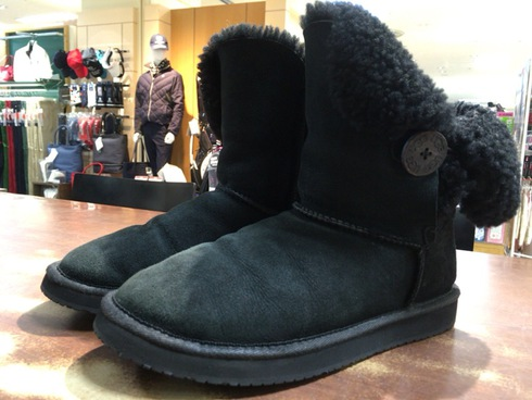 UGG×vibram safe walk black