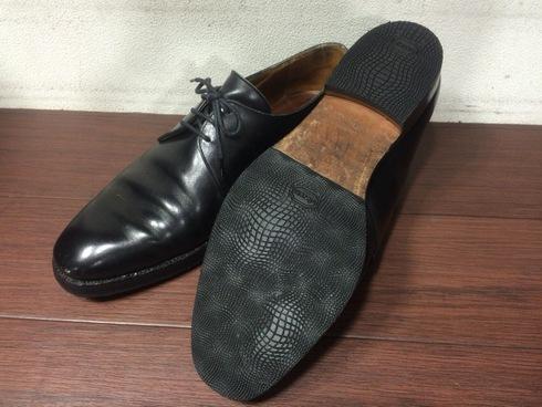 Lloyd Footwear×vibramEXハーフラバー+トップリフト