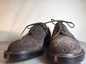 Trickers×ヴィンテージトゥスチール