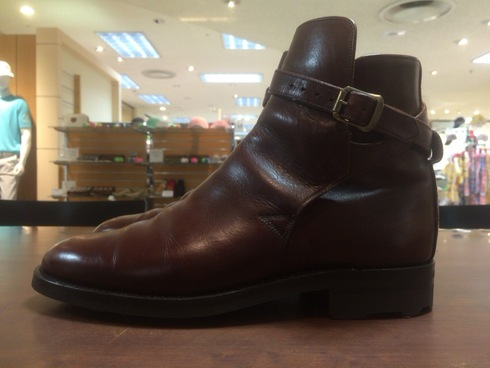 Lloyd Footwear×リッジウェイソールブラウンオールソール