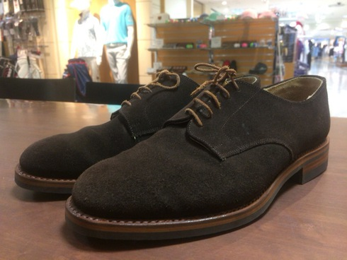 Lloyd Footwear×ダイナイトソールブラウンオールソール