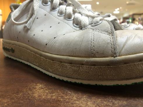 adidas スタンスミス×vibramスカルソールグリーン