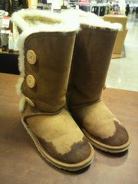 革靴が雪で濡れてしまったときには・・・