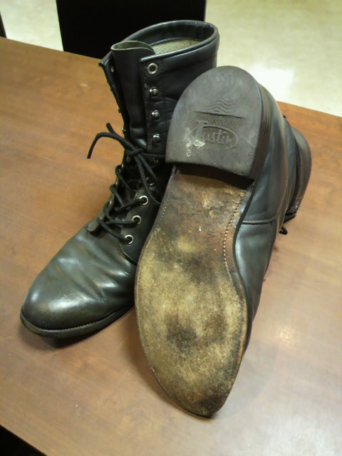 Justin Boots×vibram#4014オールソール
