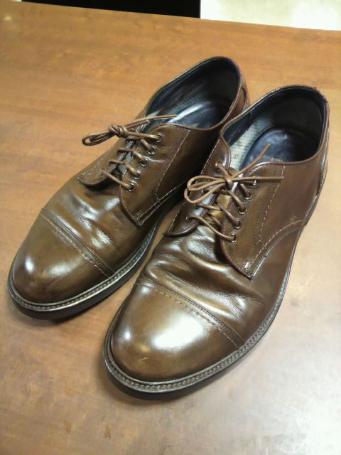 nonnative×REGAL×vibramEXハーフラバー+シューケア