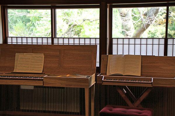 クラヴィコードコンサートin嵐渓荘