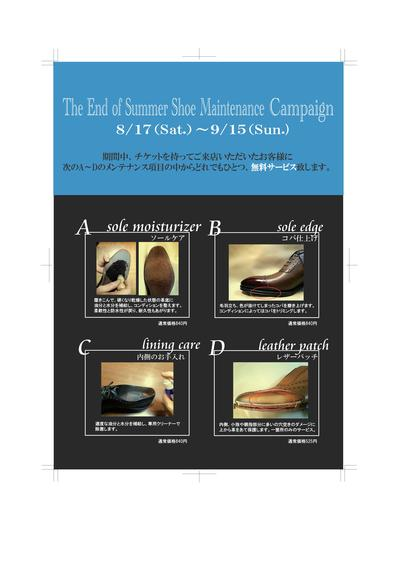 Shoe Maintenance Campaign