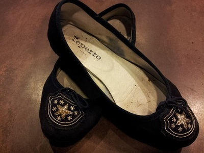 Repetto×レザーインソール