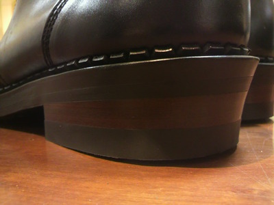 安藤製靴OR-6×Vib430オールソール+QUABAUG