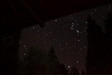 風呂からの星空