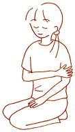 上肢第六調律点(化膿活点)