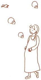 妊娠中の散歩
