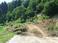 吉ヶ平への道