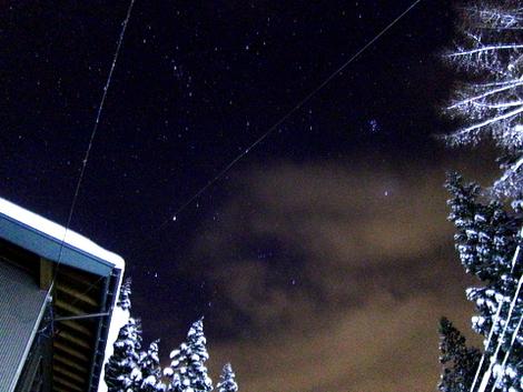 雪の星空 stars in the snowy sky