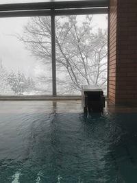 雪見風呂 準備完了(^^)