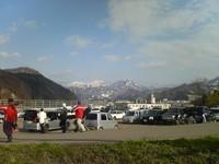 春スキー真っ盛り