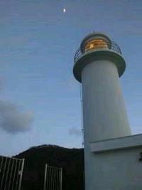 角田浜の灯台